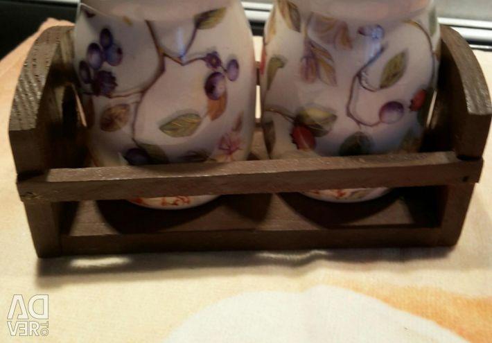 Набор для специй, ложки чайные и др. для дачи