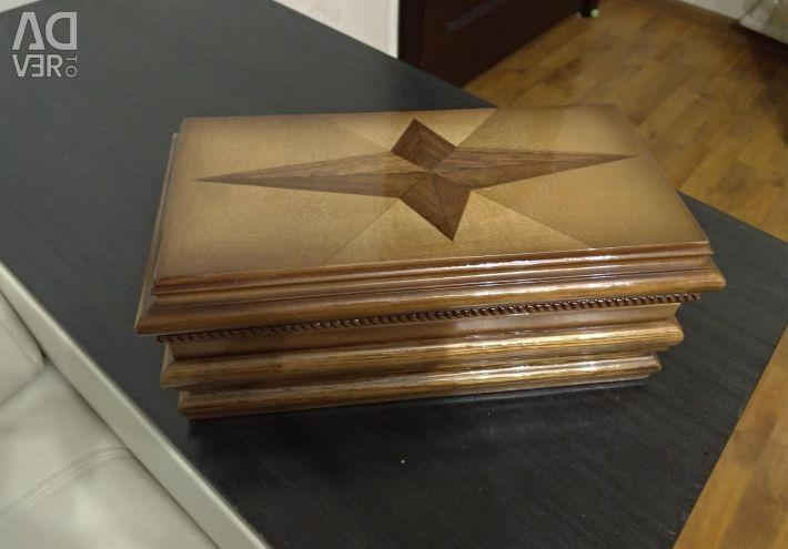 Manual cutie de bijuterii