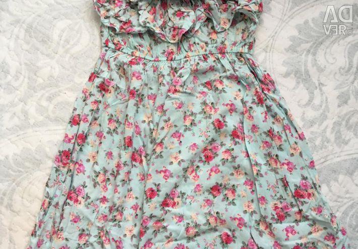 Платье бандо