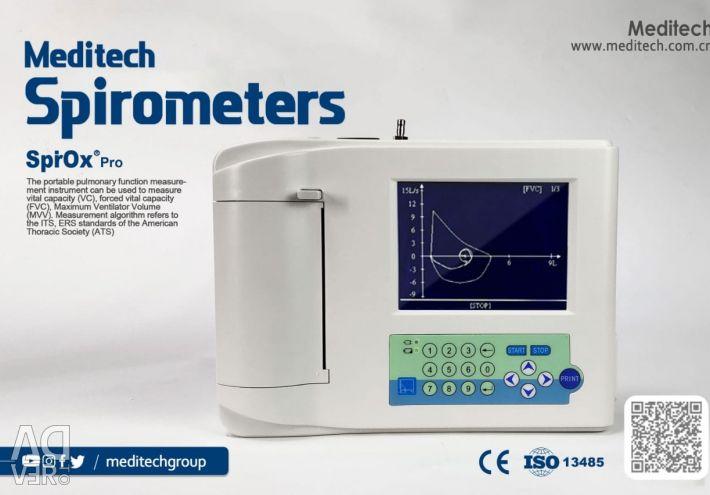 Спірометр Meditech (Медичні прилади)