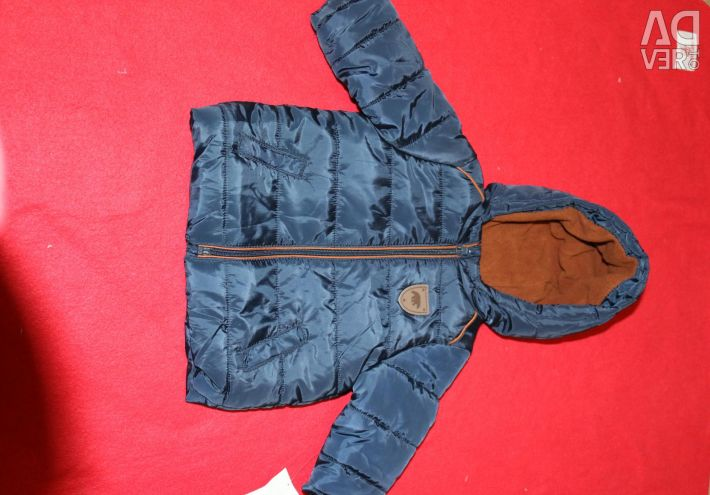 НОВАЯ Демисезонная теплая куртка KIABI