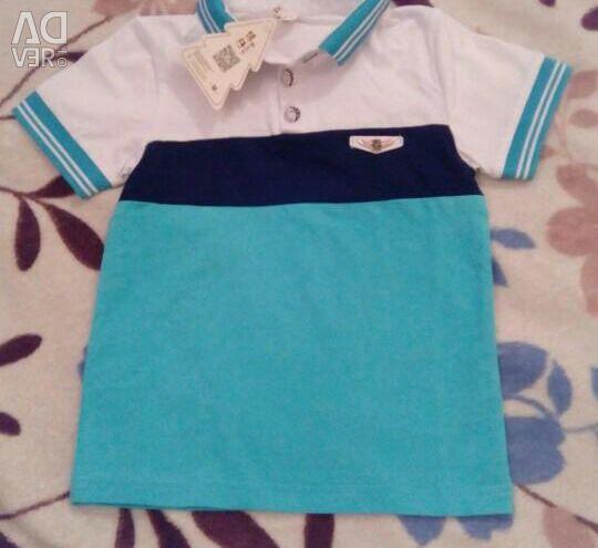 Polo + παντελόνια για ένα αγόρι .. Νέα 4-6 χρόνια.