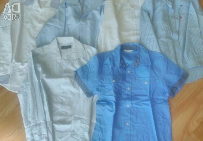 Camasi pentru baiatul 2-7 ani. Dimensiunile sunt diferite.