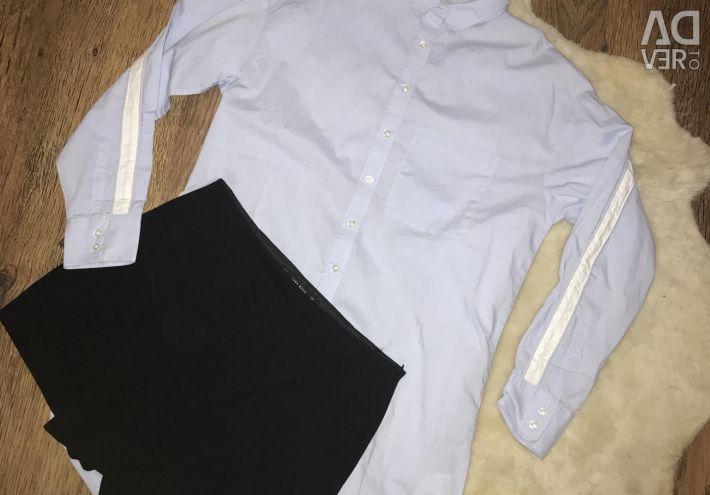 Yeni etek şort ve tişört