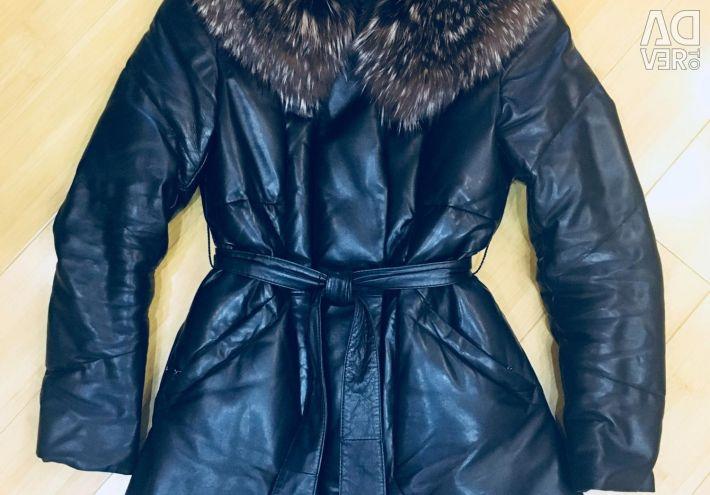 Selling a natural down jacket
