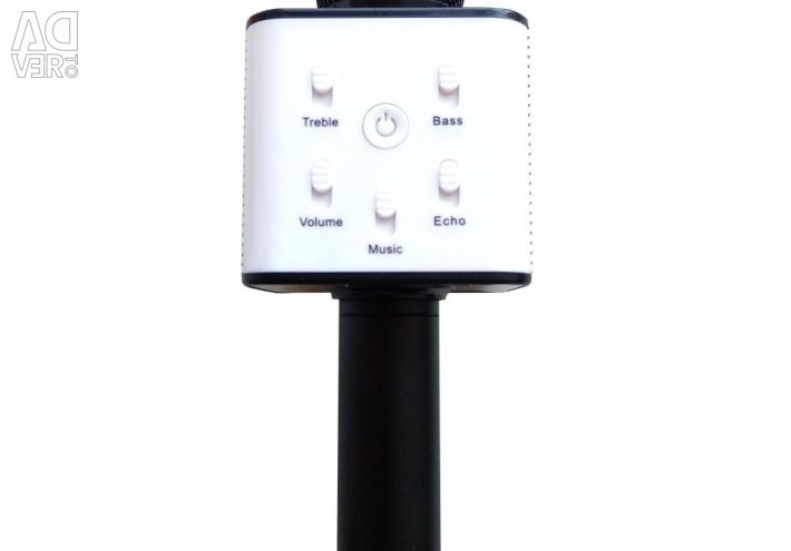 Karaoke μικρόφωνο Q7U ομιλητής μαύρο