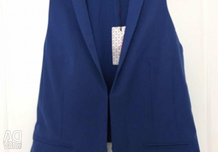 New electric blue electric vest 44/46