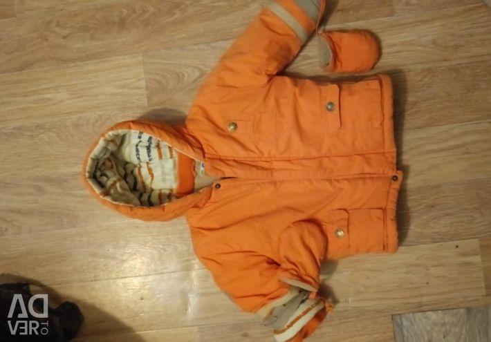 Warm jacket 62-74