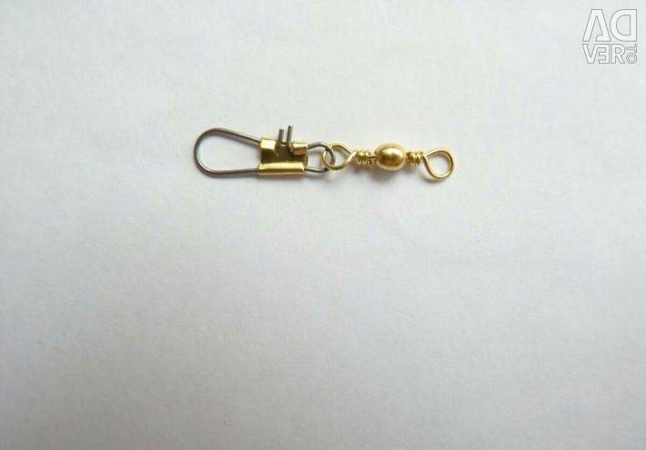 Swivels με κλειδαριά για ψάρεμα Νέο