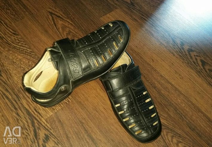 Leather shoes. Turkey.