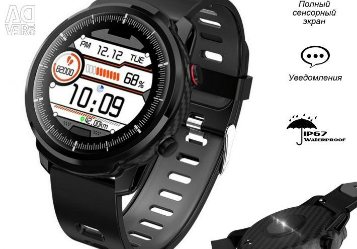 🔥 Умные Часы Senbono S10 Black IP67 Новые