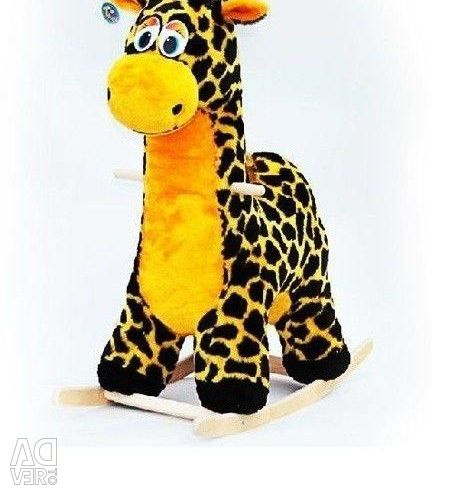 Rocking chair soft Giraffe