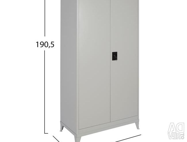 WARDROBE METALLIC 190,5 Χ90Χ45cm. CU ÎNTREȚINERE