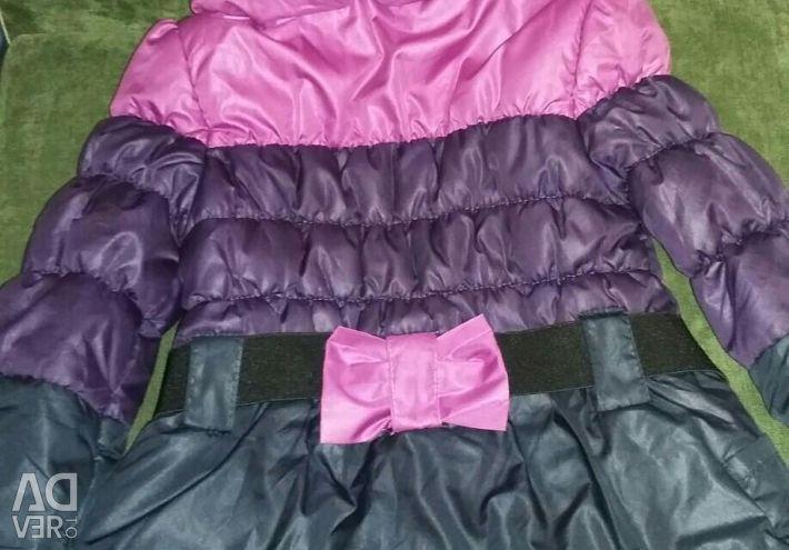 Spring-autumn jacket for girls
