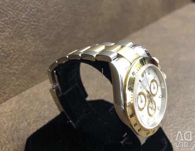 Rolex Cosmograph Daytona 116523 желтое золото с буквой S
