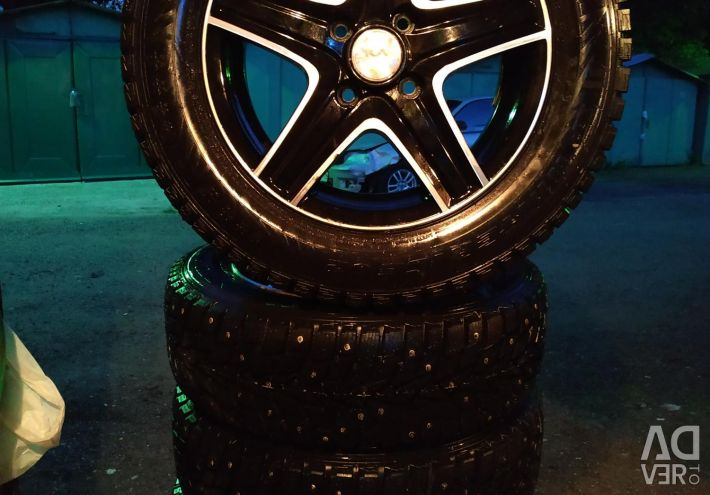 175 65 14 wheels assembly winter