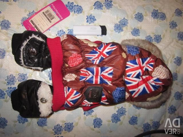 New winter overalls XS for dogs (exchange)