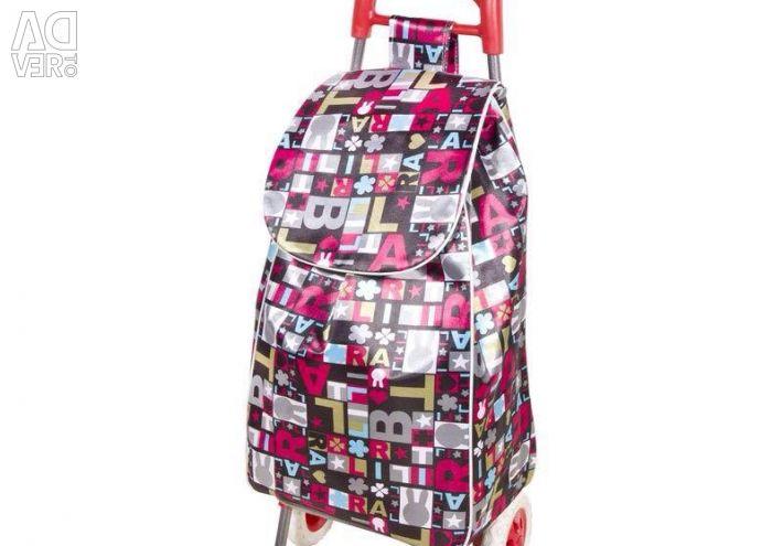 💪 Καλάθι αγορών με τσάντα