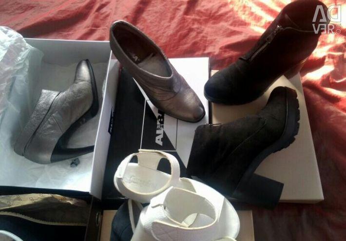 Pantofi, cizme glezna, sandale p.38 38,5