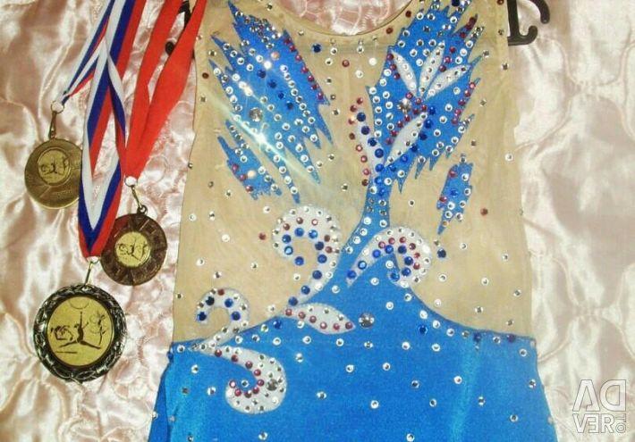 Swimsuit for rhythmic gymnastics