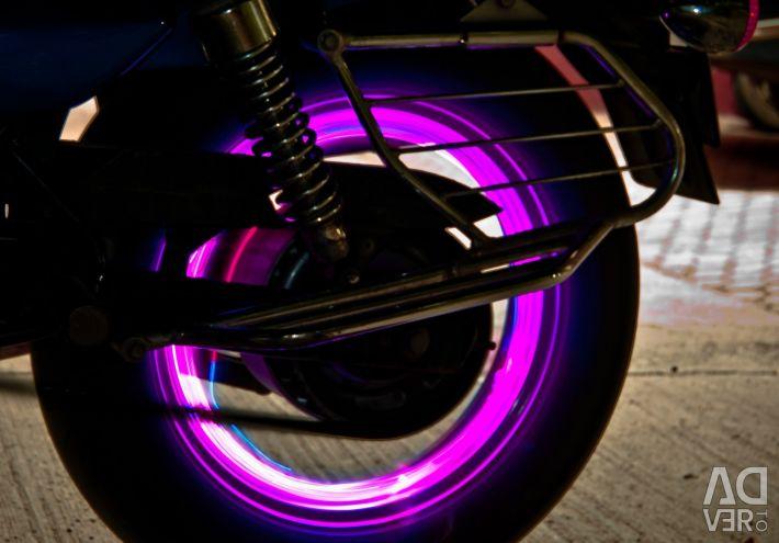 Κάλυμμα LED για τροχούς