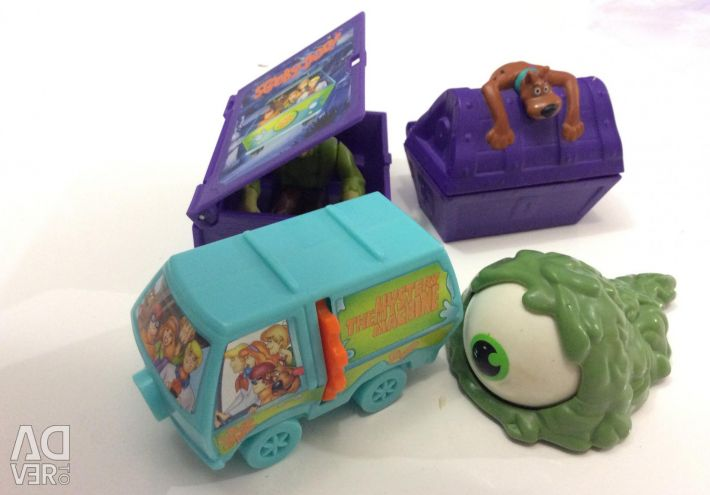 Scooter toys souvenirs from McDonald's