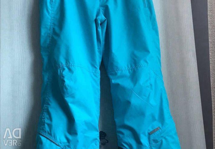 Pants and ski jacket