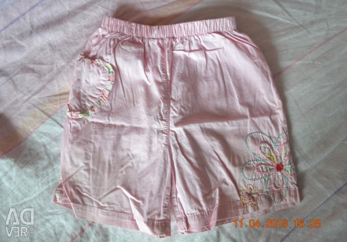 Three shorts for a girl in one lot