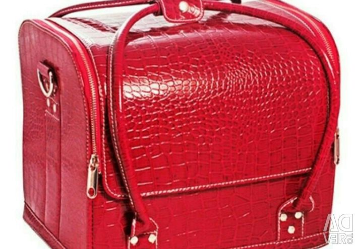Bag suitcase for manicurist, cosmetologist