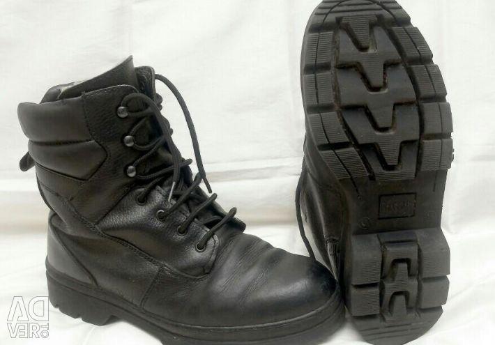 Μπότες-Bertsi φυσικό δέρμα γούνα 44 μέγεθος