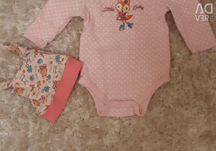 Package of things from 3 to 12 months