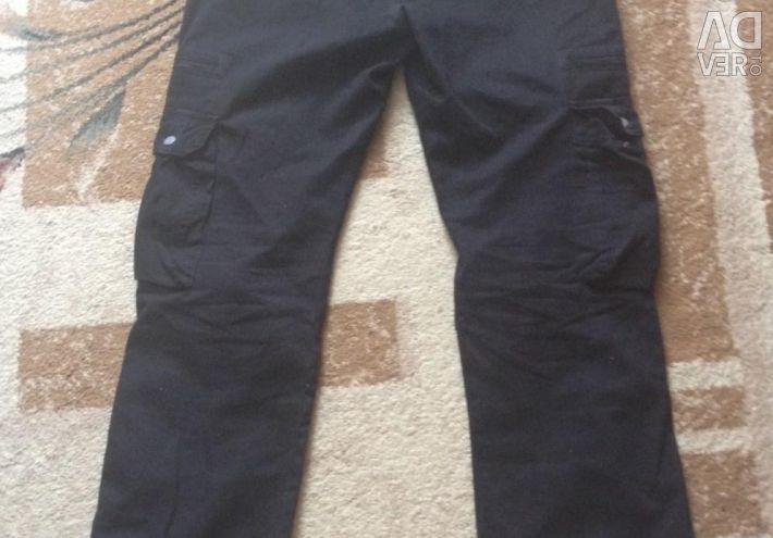 Удобные чeрные штаны
