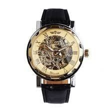 New, in unitary enterprise, mechanical watch Skeletons Winner