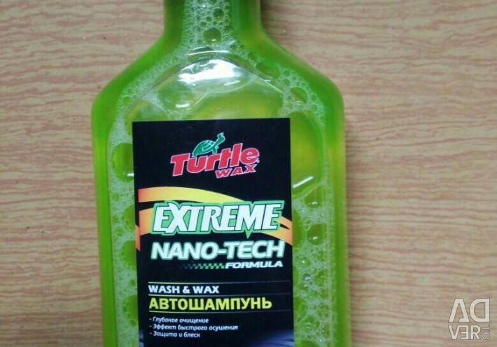 Turtle Wax Extreme Nano-tech car shampoo