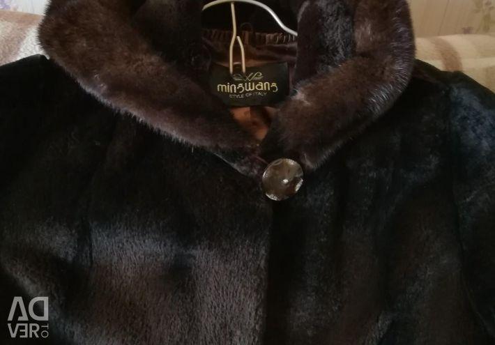 Doğal kürk palto