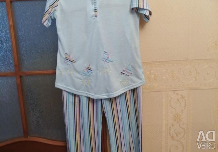 Bumbac pijama turcească cu vâscoză