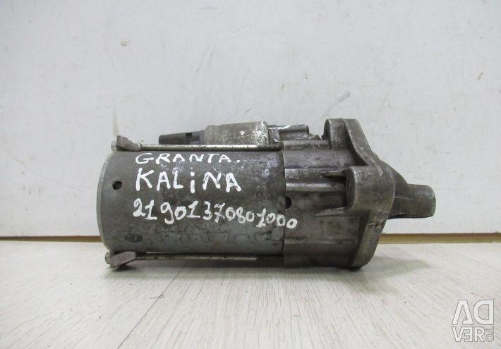 Starter Lada kalina 2 / Lada Granta oem 21901370801000 (small crack) (SKL-3)