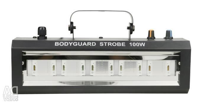 A strobe diode LED 100w is like a 1kw lamp