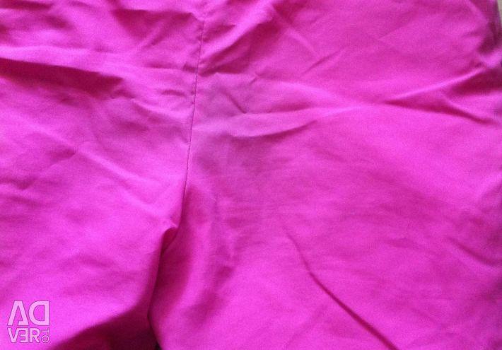 İnce bir dolgu polyester 92cm üzerinde pantolon
