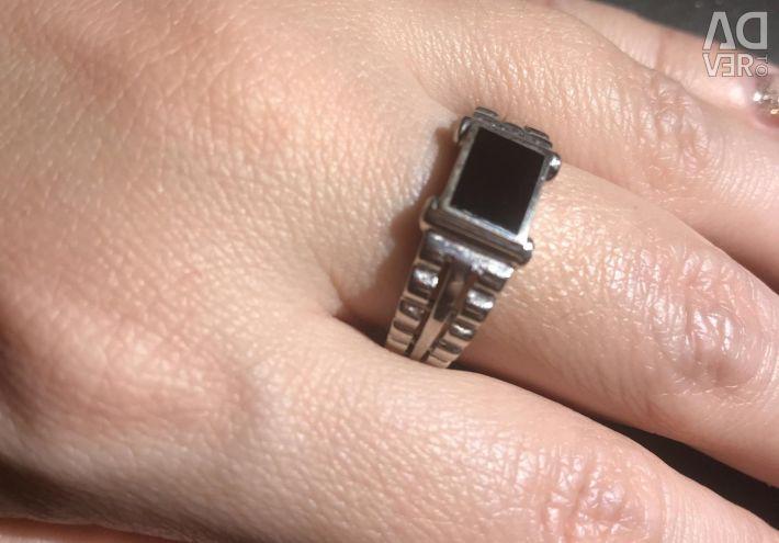 Перстень 21,5-22 разм агат Высылаю в регион
