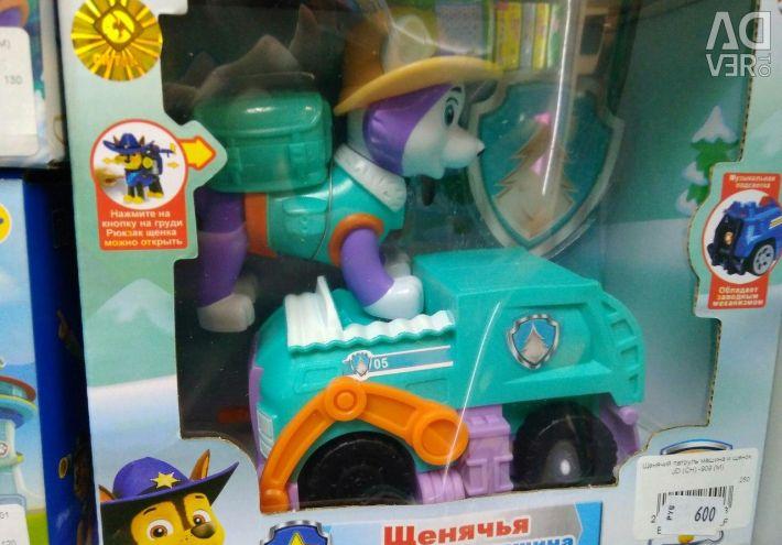 Jucării de cățeluș patrol spb în spb petersburg