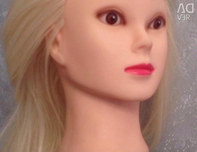 Голова манекен