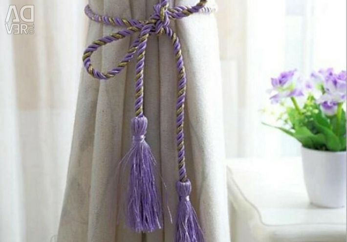 New tassels for curtains