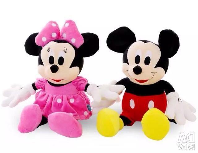 Oyuncak harika mickey mouse ve mini fare