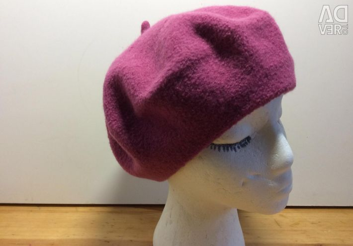 Lingonberry beret color, size 54-57, art 080