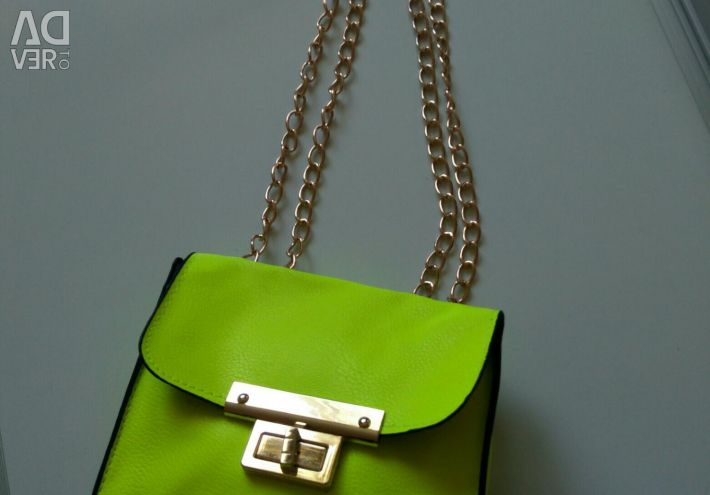 New bright handbags