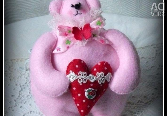 Teddy Bear ΠΟΥΚΑΜΙΣΑ από τσόχα