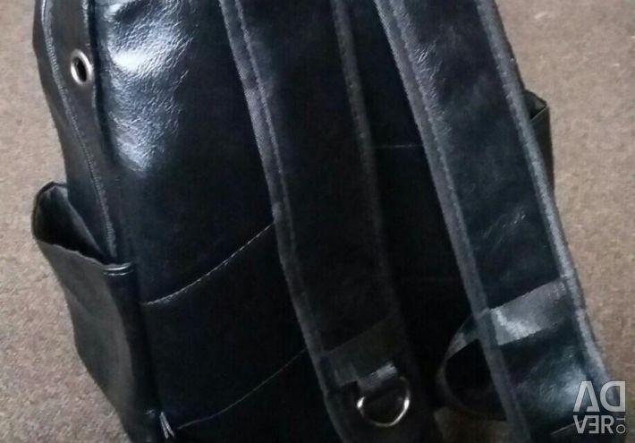 Sırt çantası deri, yeni