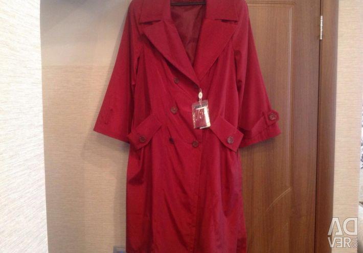 A new women's raincoat.