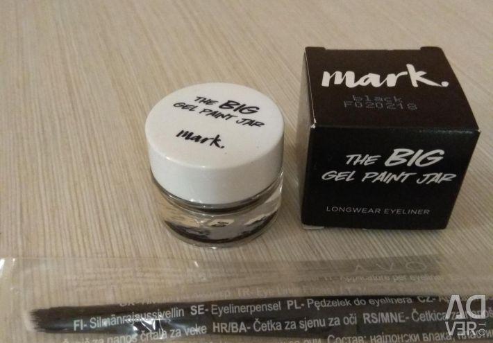 Eyeliner gel for eyes